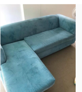 Nice blue couch Lane Cove North Lane Cove Area Preview