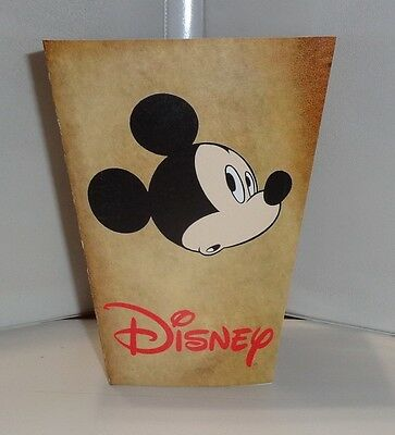 Mickey Mouse Popcorn Box 2. Disneyland Cartoons.bambi Dumbojiminy. Free Ship