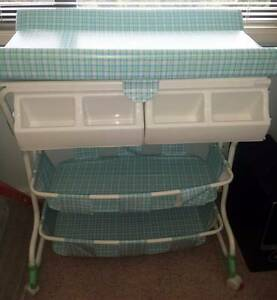 Changing Table, Storage Unit and Bath Tub Cardiff South Lake Macquarie Area Preview