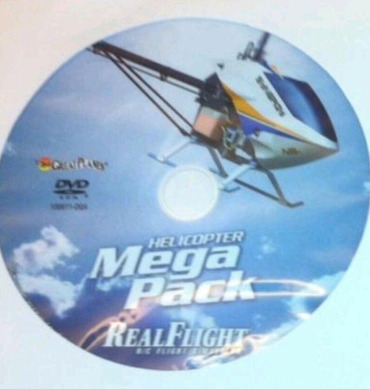 REALFLIGHT  HELI MEGA PACK