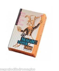 Mazzo-carte-conico-giochi-di-prestigio-trucchi-magia-cilindromagico