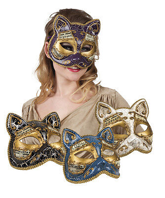 venezianisch mask gatto Katze Katzenmaske    (Venezianische Maske Katze)