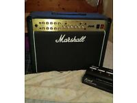 Marshall JVM215C amp with foot controller