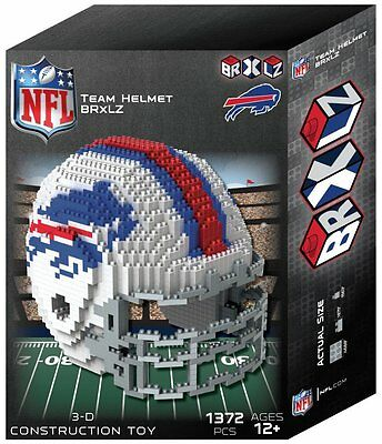 - Buffalo Bills BRXLZ Team Helmet 3-D Puzzle Construction Toy New - 1372 Pieces