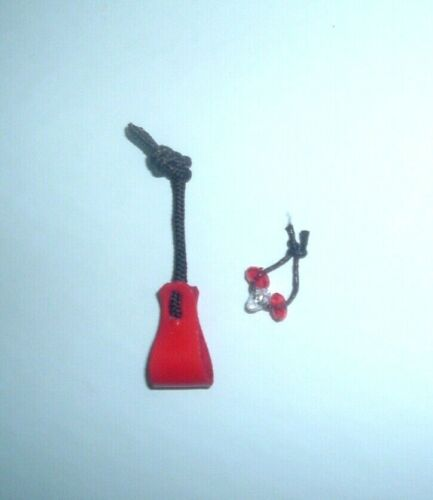 Black ThunderCats PANTHRO Nunchucks Hand Made Toy Weapon Original Style