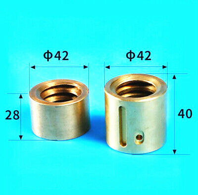 2pc Milling Machine Part Landscape Screw Nut Y Axis Mobile Copper Nut Cnc Mill