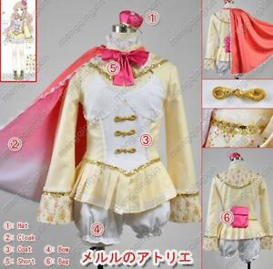 PS3 Atelier Meruru Alchemist 3 Meruru Cosplay Costume Custom Any Size