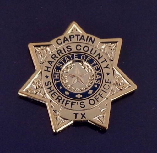 Harris County CAPTAIN Texas Sheriff