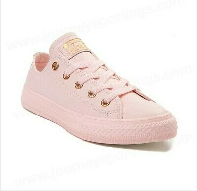 Kids Girls Converse (Converse 1 kids girls leather pink low top)