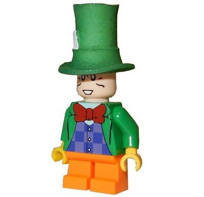 **NEW** LEGO Custom Printed MAD HATTER - DC Universe Minifigure
