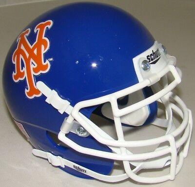 New York Mets Schutt Mini FOOTBALL - Ny Mets Helmet