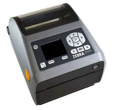 NEW Zebra ZD620 Printer, ZD62142-D01L0640 Ser, USB, Ethernet, WIFI, Bluetooth
