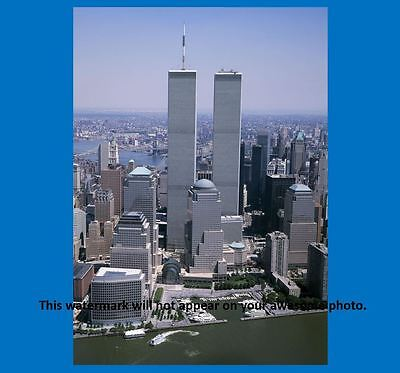 World Trade Center Towers PHOTO Art Print New York TWIN TOWERS B4 9/11