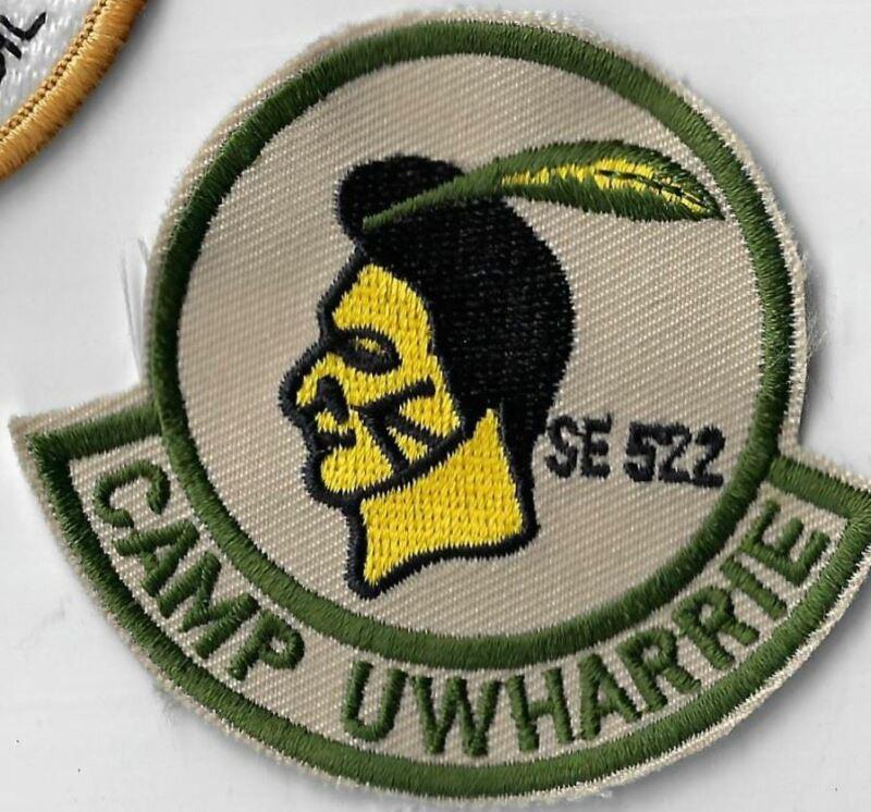 SE 522 Wood Badge Camp Uwharrie DGR Border [X-2418]