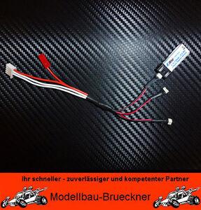 Ladekabel Ladeadapter f. 3 Blade MSR X MCX 1S LiPo Akku BEC JST Balancer Stecker