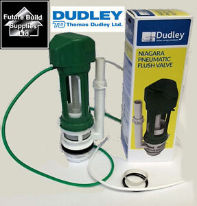 THOMAS DUDLEY NIAGARA SINGLE / DUAL FLUSH VALVE AIR PNEUMATIC CONCEALED CISTERN