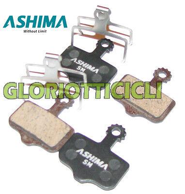 ASHIMA Set 4 Pastilla de Freno Para Avid Elixir Semillas/Metálicas
