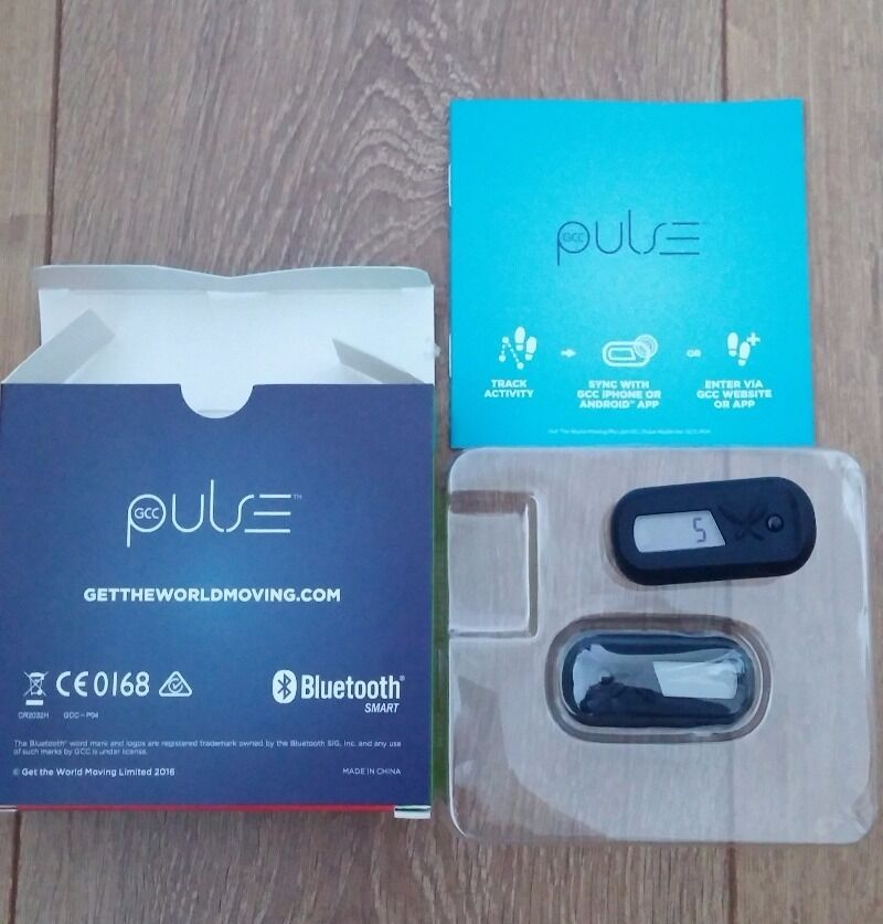 Pedometer gcc pulse bluetooth for sale in ballina, mayo from angeleszh.
