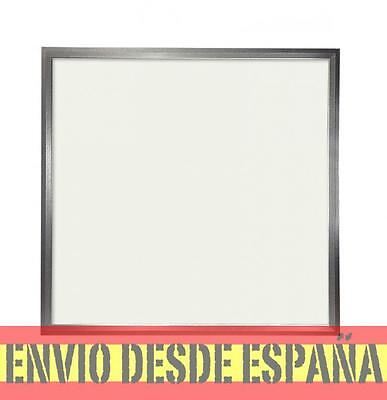 Panel LED Slim 60x60cm 38W 4500lm Marco Plata