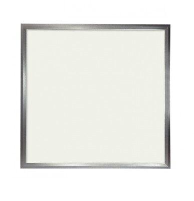 Panel LED Slim 60x60cm 48W Marco Plata 4300 LUMENS COLOR Blanco Neutro...
