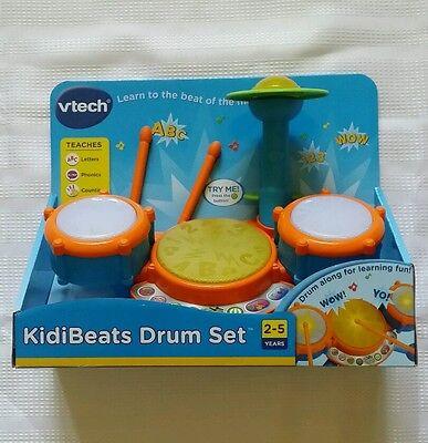 Vtech   Kidibeats Drum Set  2 5 Years  New