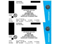 Kylie Minogue at Leeds First Direct Arena 4th October 2018 2 x Floor Standing Tickets For Sale