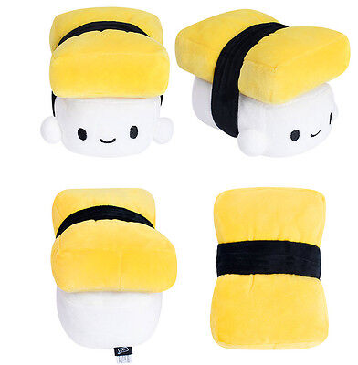 "Sushi Japanese Food Egg 6"" Mini Soft Cushion Stuffed Pillow Cute Decor Toy"