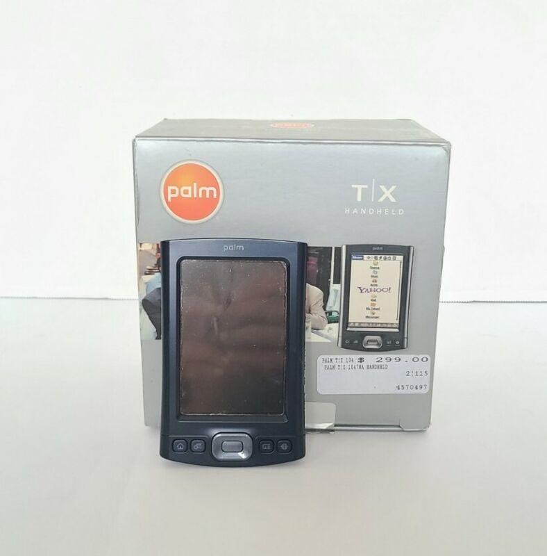 Palm TX PDA Blue Handheld Organizer Bluetooth Wi-Fi - please read