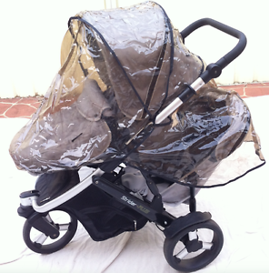 STEELCRAFT STRIDER PLUS 3 WHEEL STROLLER WITH SECOND SEAT Quakers Hill Blacktown Area Preview