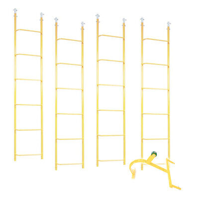 Acro 11610-combo Set Contains 4 6ft Ladder Sections 1 Reinforced Hook