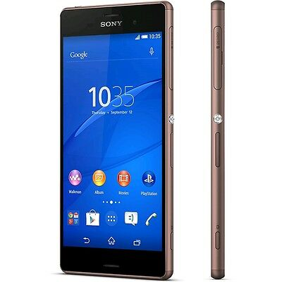 Sony Xperia Z3 D6603 - 16GB - Copper (Ohne Simlock) Smartphone Android LTE NEU