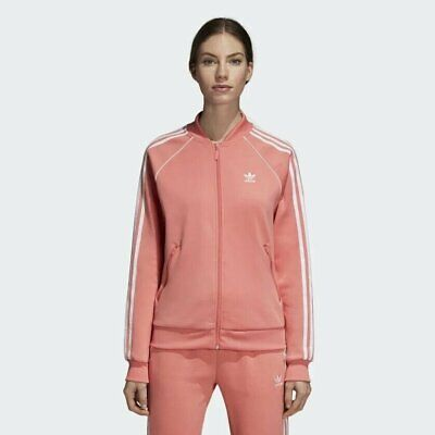 - Women's adidas SST Track Jacket - Pink - DH3162