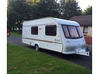 Elddis avante 2003 full awning 4 berth end changing facility electronic heating system hot and