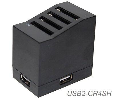 USB 2.0 Multi (4 at a time) SD Card Reader/Writer Adapter w/ 3 Port USB HUB