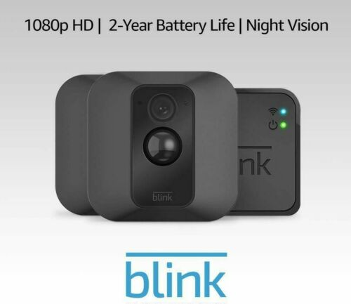 Blink XT Two Camera System Wire-Free Outdoor Security Camera
