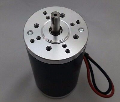 12V-DC Permanent-Magnet Electrical-Motor Servo CNC Brush Project Keyed 5000-RPM (Motor-servo-cnc)