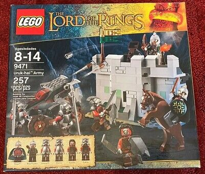 LEGO Lord of the Rings Uruk-hai Army (9471) NEW SEALED