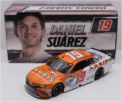 ROOKIE NASCAR 2017 DANIEL SUAREZ # 19 ARRIS HIGH SPEED MODEMS 1/24 CAR