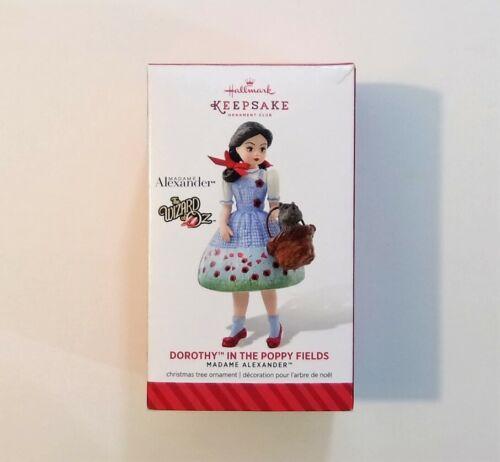 Hallmark Madame Alexander The Wizard of Oz Dorothy in Poppy Fields Club Ornament