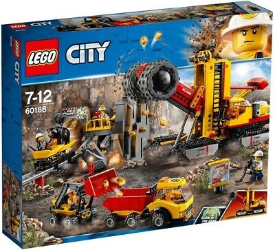 BRAND NEW  SEALED LEGO CITY CONSTRUCTION 60188 MINING EXPERT SITE 6 MINIFIGURES