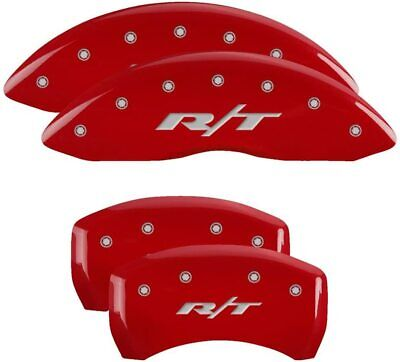 MGP Red Aluminum Caliper Covers for 2011 - 2020 Dodge Charger / Challenger R/T