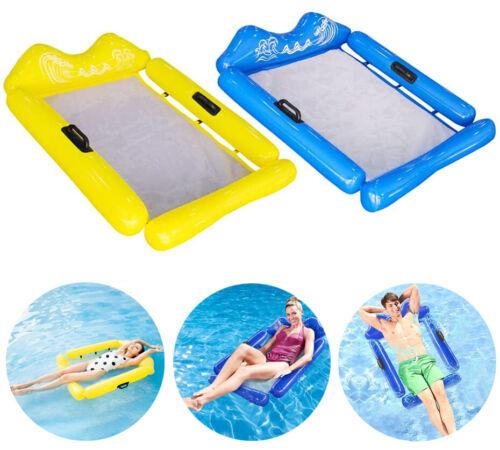 Wasserliege Wasserhängematte Luftmatratze Wasser Poolsitz Schwimmsessel Floating