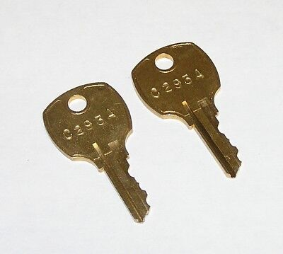 2 - C293a Replacement Keys Fit Perlick Beer Faucet Locks