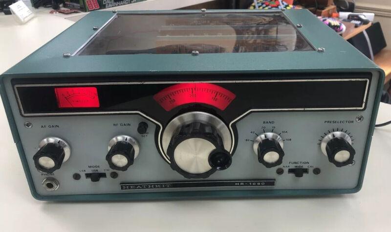 Heathkit HR - 1680 SSB/CW Receiver - Display Top