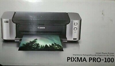 Canon PIXMA PRO-100 Color Professional Inkjet Photo Printer wireless