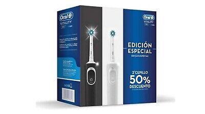 Pack De 2 Cepillos De Dientes Eléctricos Edición Especial Oral-B Vitality 100