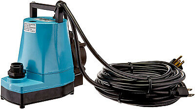 Little Giant 505350 I5-asp-ll Low Level Submersible Pump 1200gph