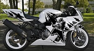 Sportbike Decal EBay - Motorcycle decal graphics