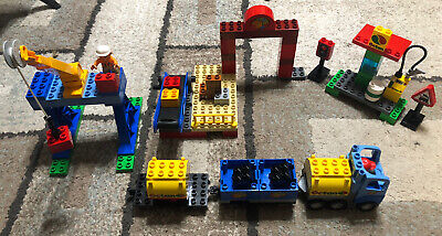 LEGO Duplo Deluxe Train Set (5609) - Not Complete - Includes Instructions