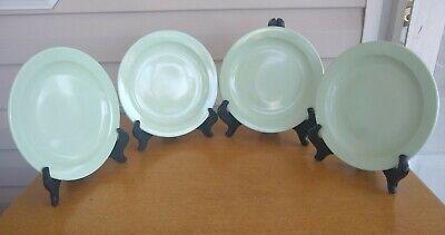 4 1960's Mid Century Boontonware Luncheon Plates